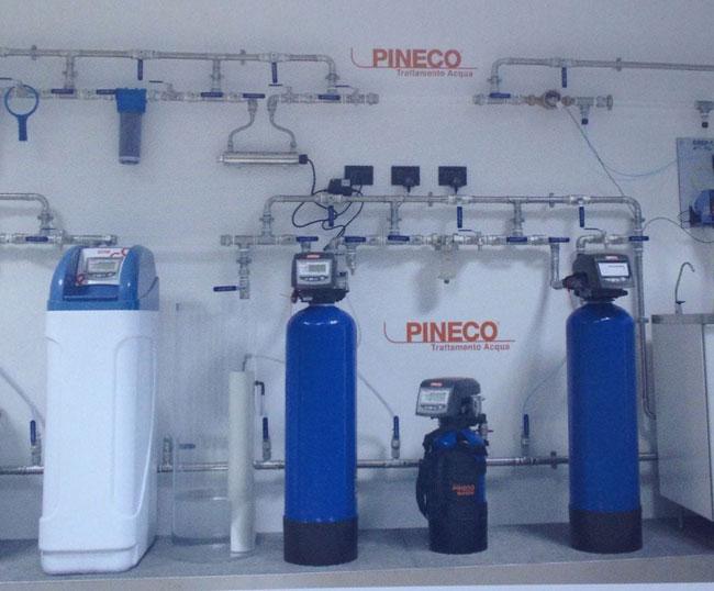 Potabilizzazione a addolcimento acqua parma sistema for Pineco trattamento acqua